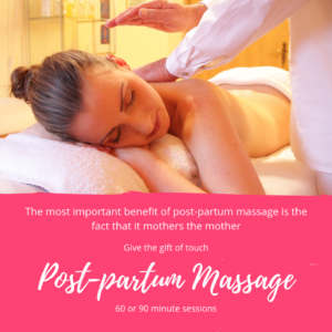 Post-partum Massage in Cape Town