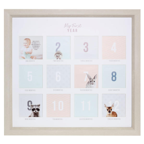 First Year Memory Frame
