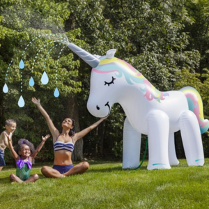 Big Mouth Unicorn Sprinkler