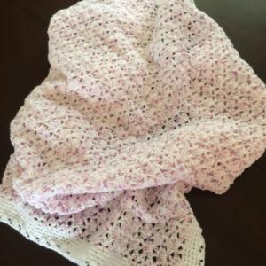 Baby Angel Crocheted Blanket