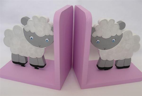 Baby Sheep Bookends