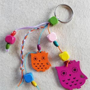 Owl Keyring Craft Kit
