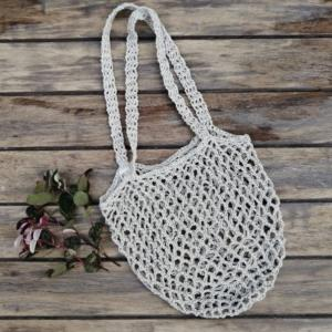 Hemp Crocheted Bag