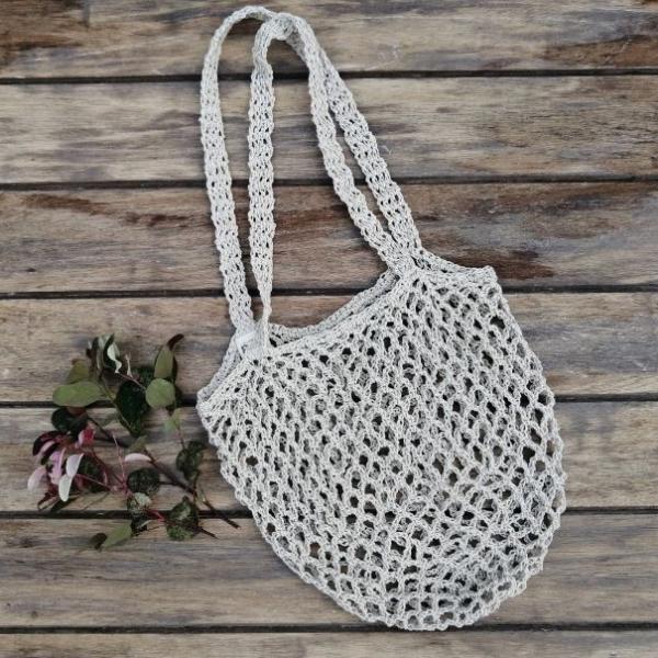 Hemp Crocheted Bag