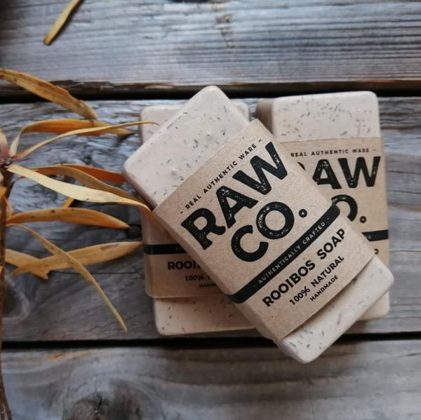 Natural Handmade Rooibos Soap