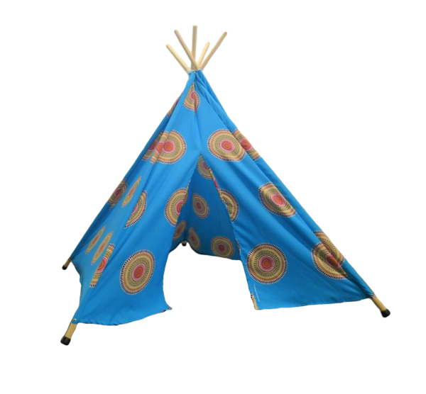 Apache Blue Indian Teepee Tent