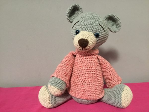 Big Crocheted Bear