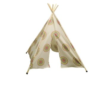 Apache Indian Cream Teepee Tent