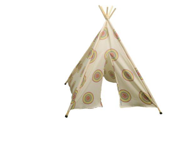 Apache Indian Cream Teepee Tent