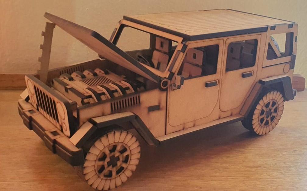 3D Wood Crafts