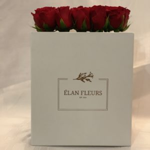 Red Roses Flower Box R450