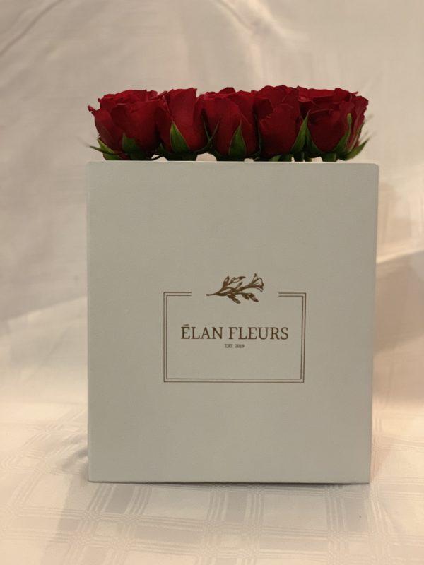 Red Roses Flower Box R450