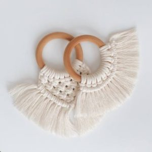 Macrame Teething Rings
