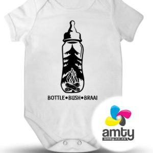 Bottle Bush Braai - Baby Vest