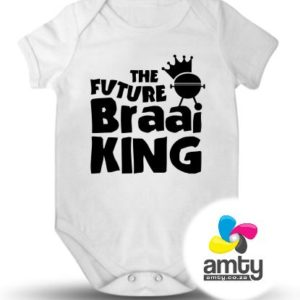 The Future Braai King - Baby Vest