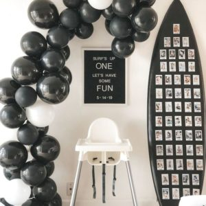 Black_and_White_Balloon_Garland