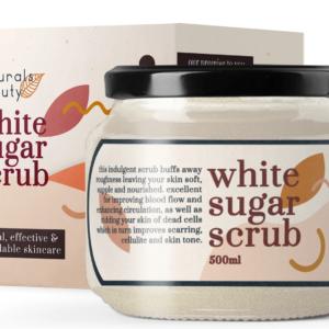 Naturals Beauty White Sugar Scrub