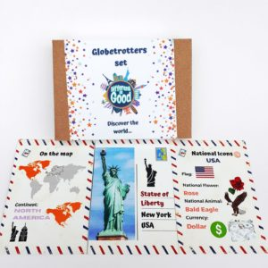 Globetrotters cards set: All about your world