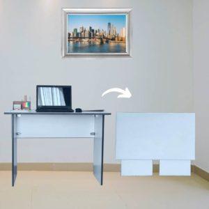 SpaceSave Flip n Flat Folding Desk