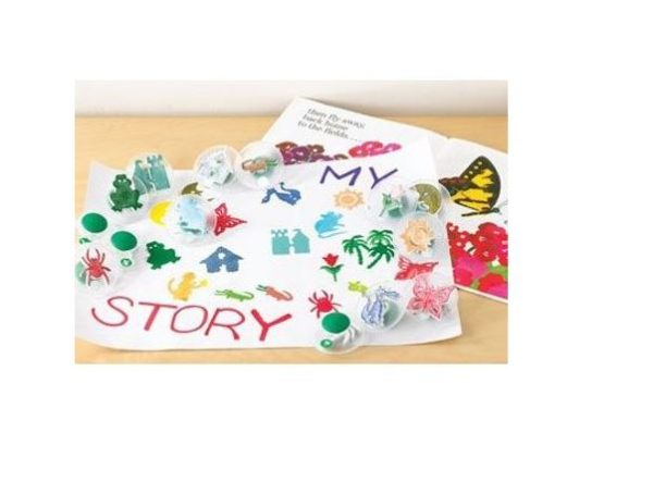 paint stamps story